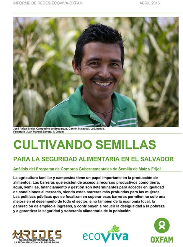 """Investigación: """"Cultivando Semillas para la Seguridad Alimentaria en El Salvador"""""""