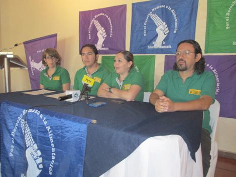 Mesa por la Soberanía Alimentaria exige reconocimiento del Derecho Humano a la Alimentación