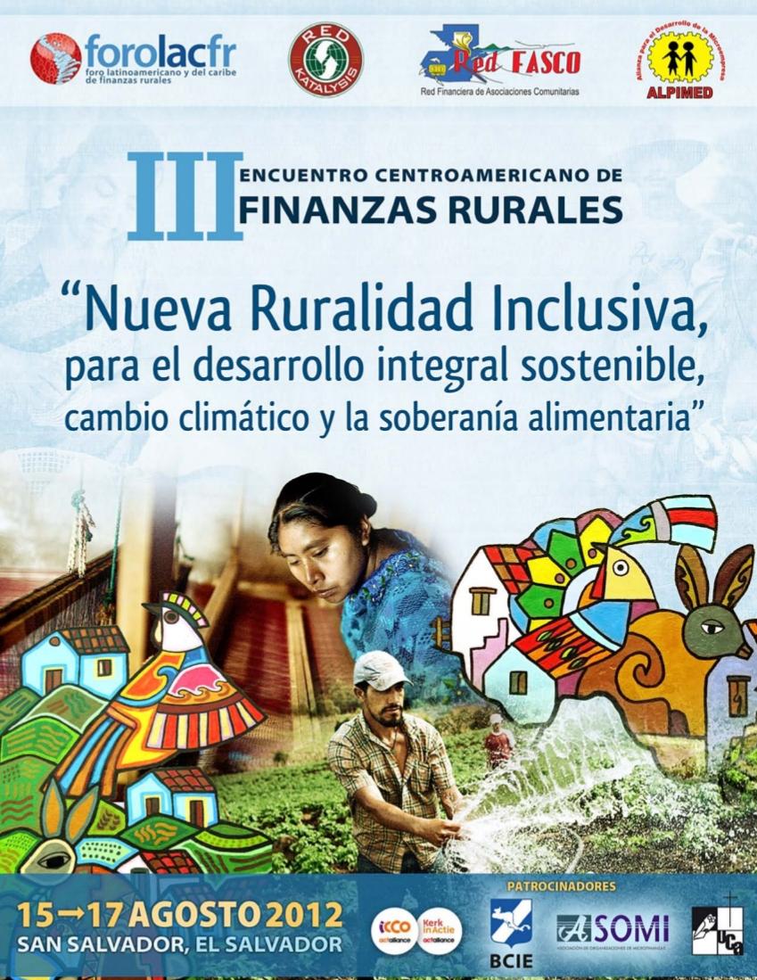 III Encuentro Centroamericano de finanzas rurales