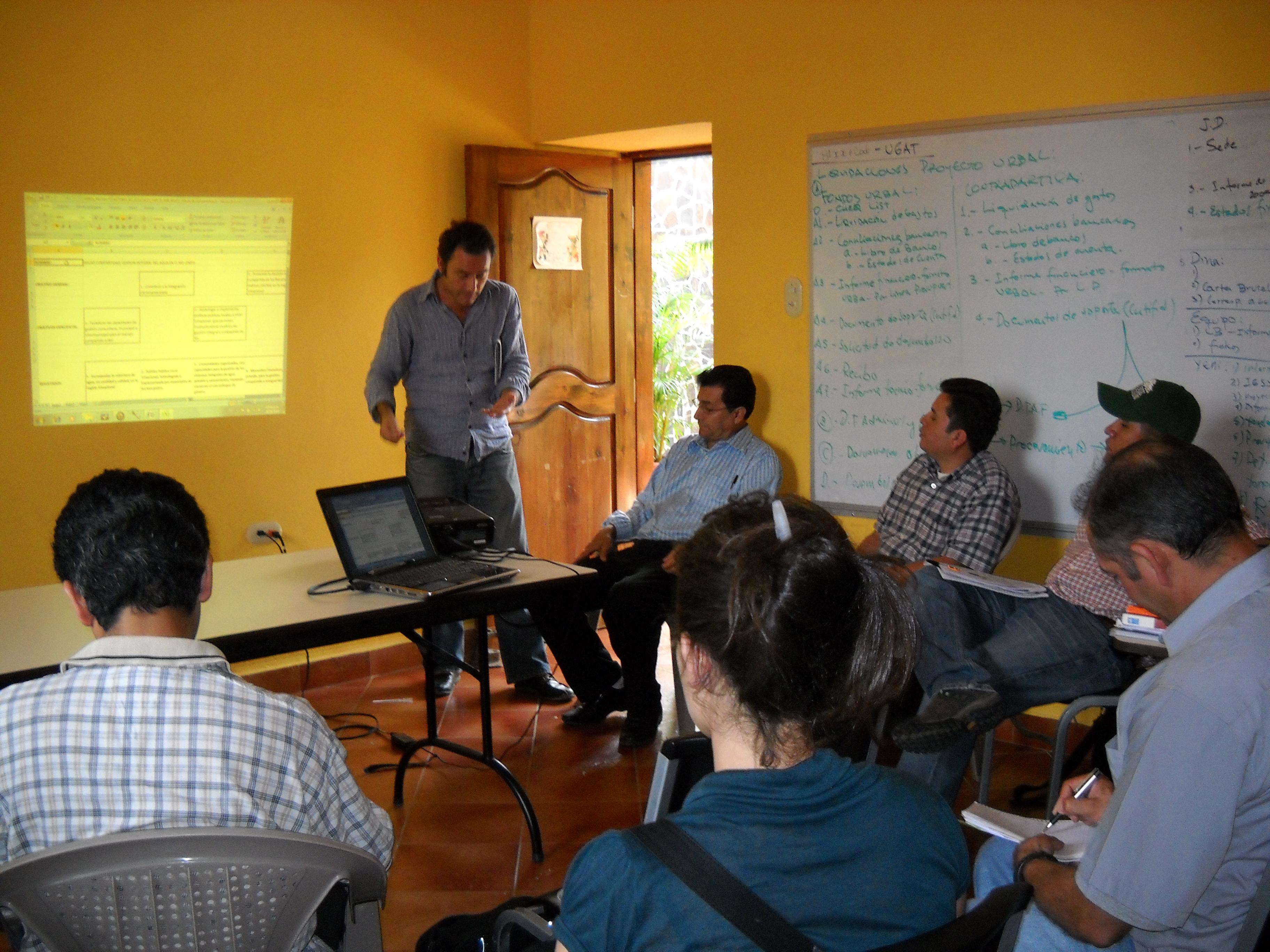 Conocimientos locales por la gestión social y mancomunada de las cuencias hidrográficas del alto Río Lempa.