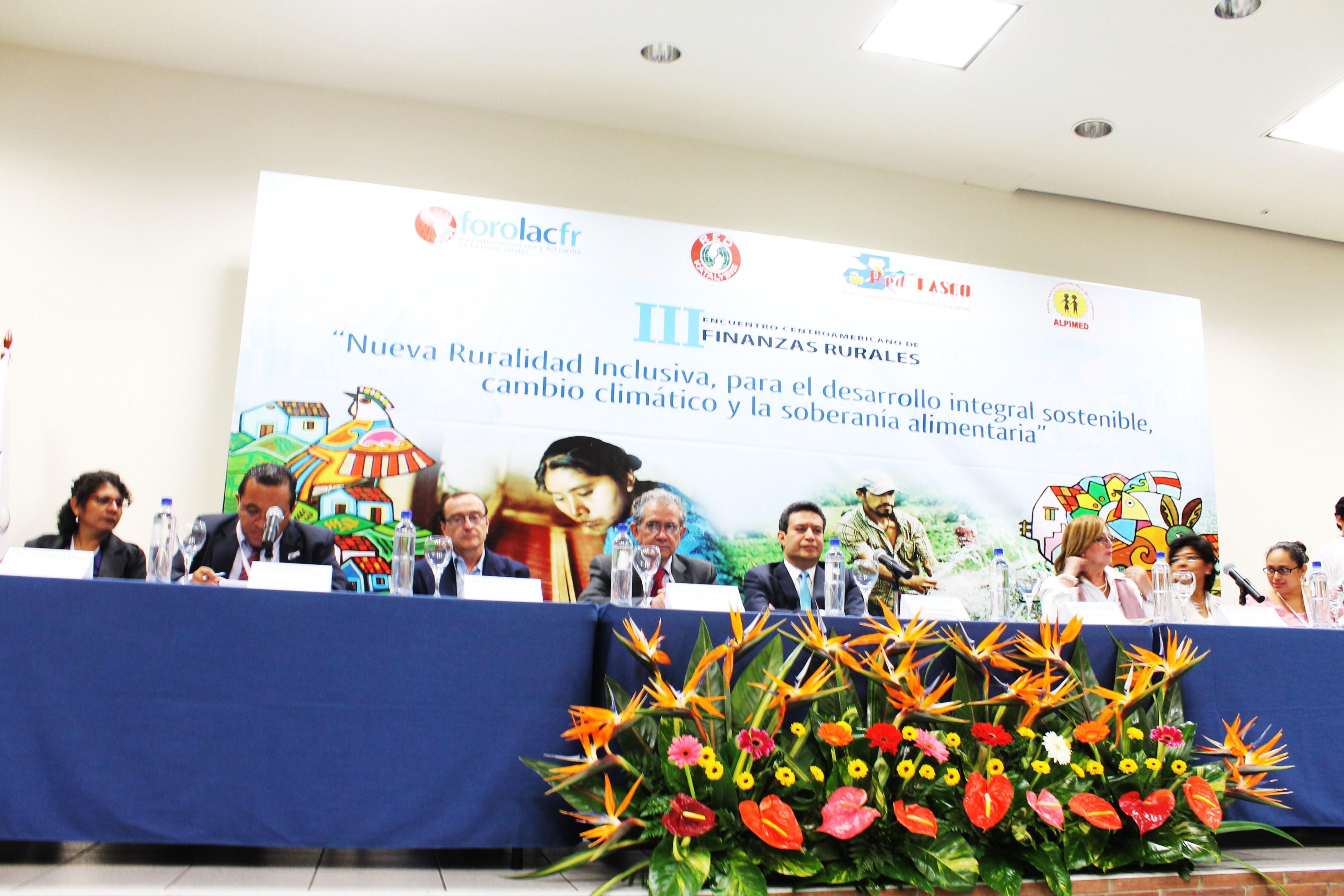 Inicia el III Encuentro Centroamericano de Finanzas Rurales en El Salvador