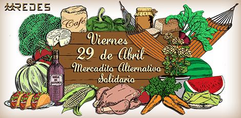 Mercadito Solidario 29 Abril 2016