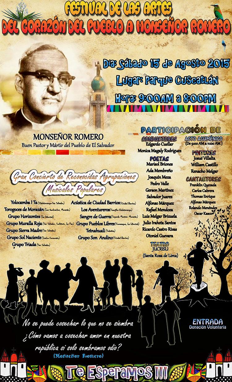 Festival de Artes Monseñor Romero