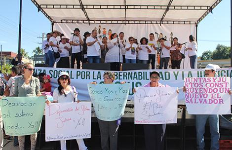 Organizaciones exigen respeto a la Soberanía Nacional y al Clima de Gobernabilidad