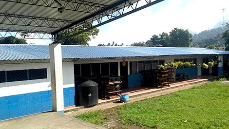 REDES mejora instalación educativa en Berlín, Usulután