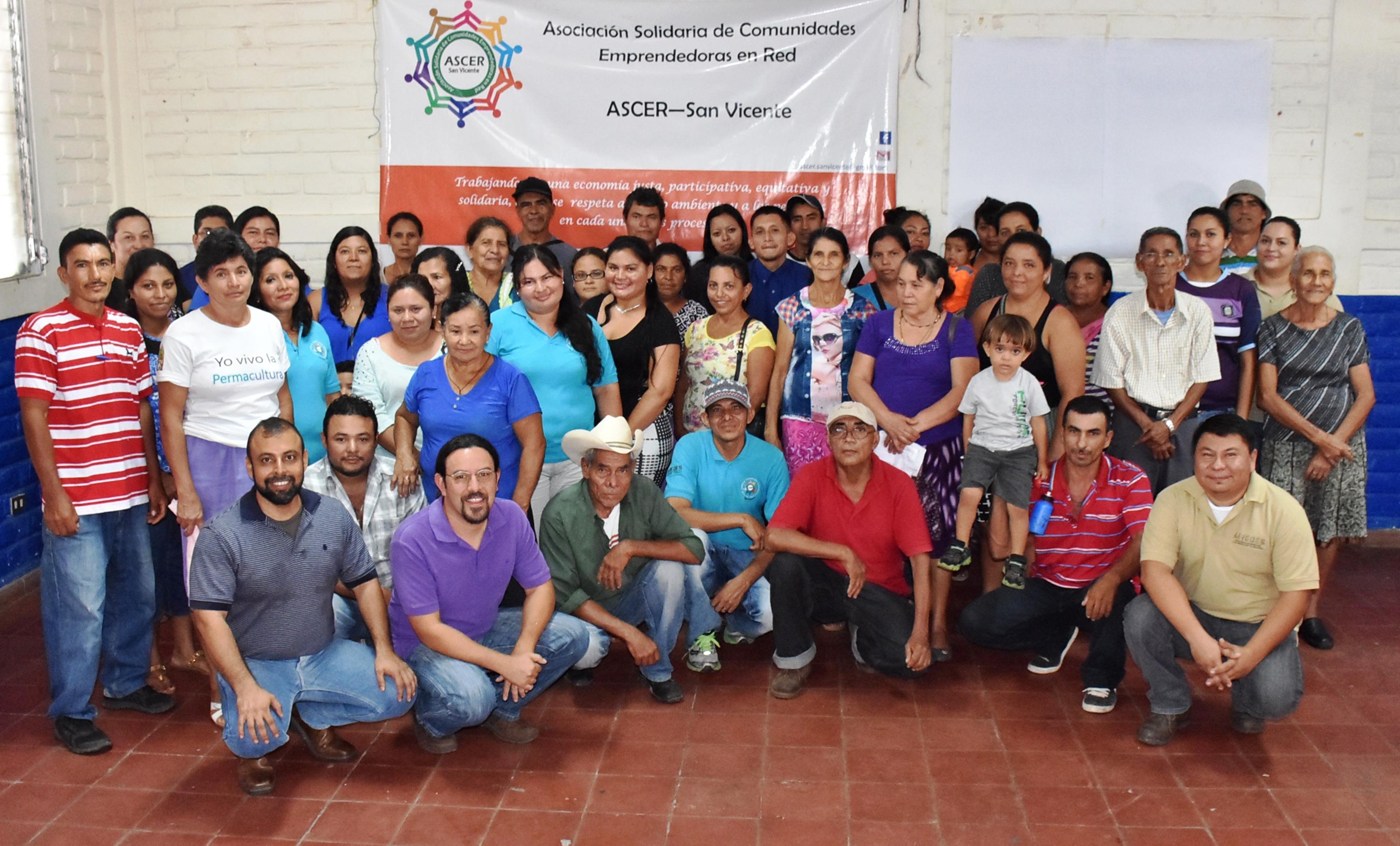 Fundación Redes apoya el fortalecimiento de Iniciativas Económicas en San Vicente