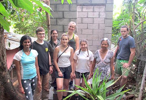 Mejorando las condiciones de vida en el municipio San José Villanueva