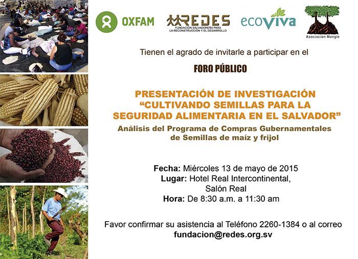 """""""Cultivando Semillas para la Seguridad Alimentaria en El Salvador"""""""
