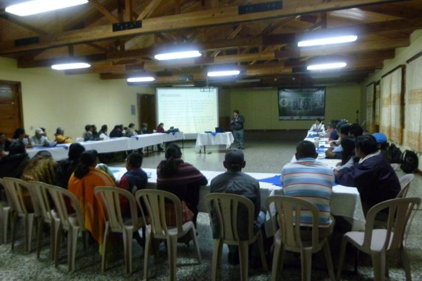 Quinto Encuentro Centroamericano para la Gestión Social de los Recursos Hídricos.